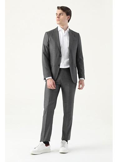 D'S Damat Slim Fit Takım Elbise Antrasit